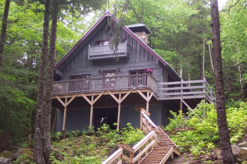 From Fire Pit Area - A Quiet Place on a Beautiful Lake - 200ft Frontage - Island Falls - rentals