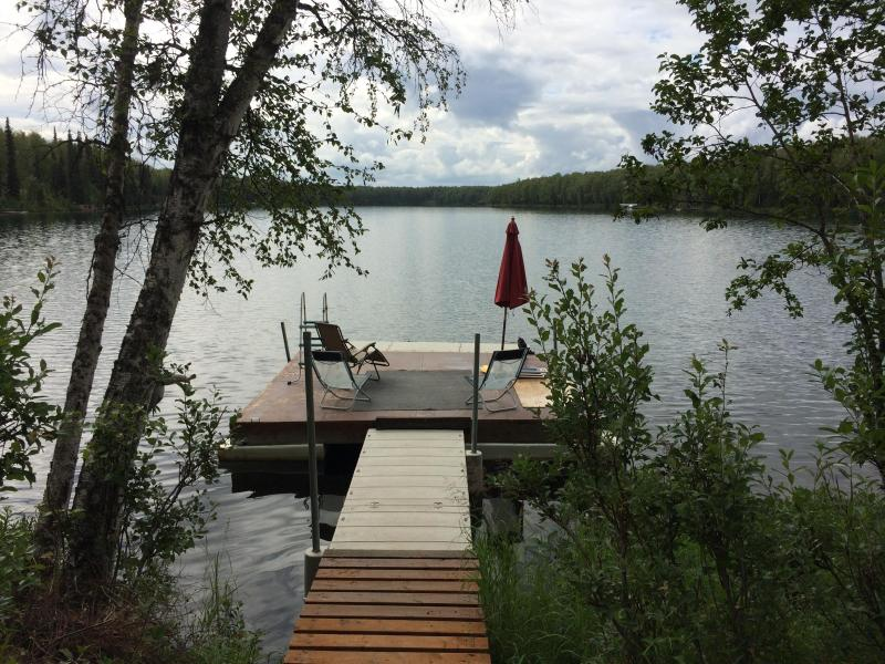 Private Dock at the end of the Lake  - Cabin on Quiet Lake in Willow Alaska - Willow - rentals