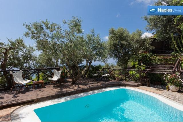 Spectacular 4 bedroom villa on the Amalfi Coast - Image 1 - Positano - rentals