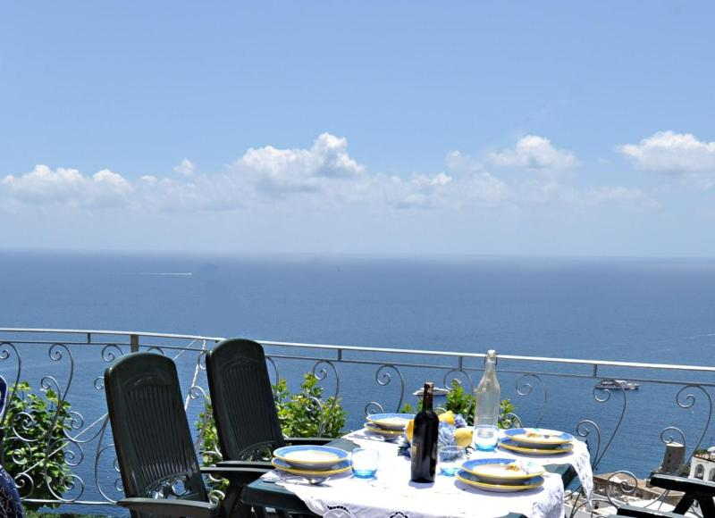 Terrace overlooking the sea - POSITANO -  In the heart of that picturesque area - Positano - rentals