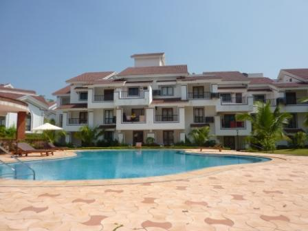 Beautiful pool area - 1 bedroom apartment, Arpora, Goa - Arpora - rentals