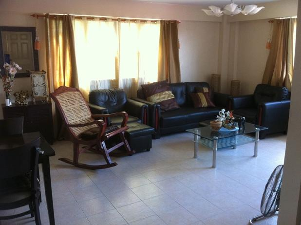 Very Spacious Living room surrounded by windows! - TROPICAL VACATION large 2 bedroom condo with VIEW - Pasig - rentals
