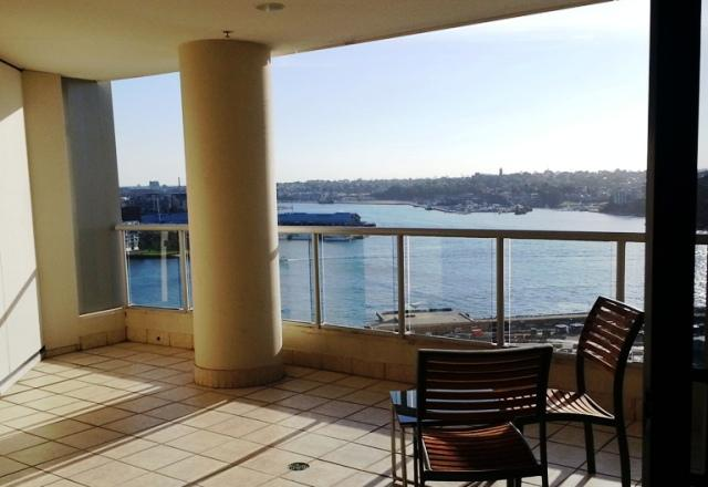 One Bedroom Apartment Balcony Darling Harbour Outlook - Sydney City - 1 Brm Apt w/ Darling Harbour Views - Sydney - rentals