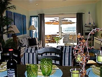 Beautifully Maintained Duplex on the Sand! - Image 1 - Capistrano Beach - rentals