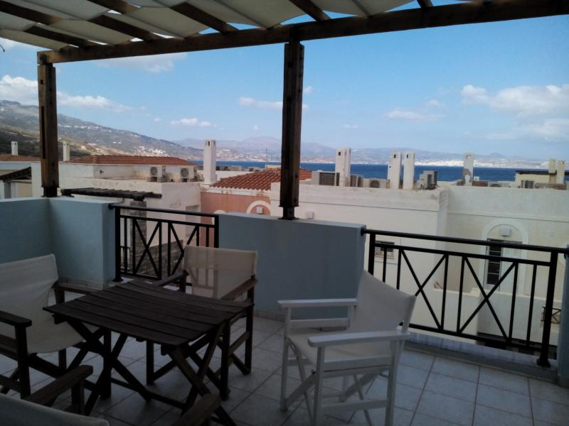 view from the terrace - DOUBLE HOUSE IN BEAUTIFUL CRETE - Sitia - rentals