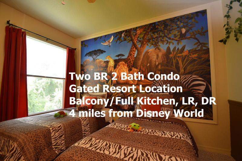 Jungle Safari condo rental near Walt Disney World - Image 1 - Kissimmee - rentals