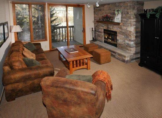 Living Room - Townsend-Place-B205 - Vail - rentals