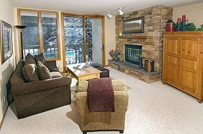 Living Room - Townsend-Place-B207 - Vail - rentals