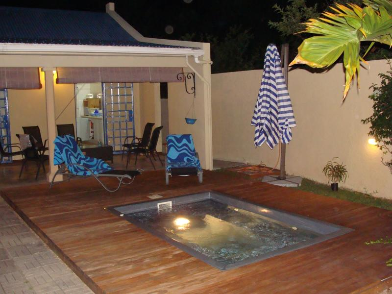 From the pool deck - Spacious villa, with beautiful sunset - Port Mathurin - rentals