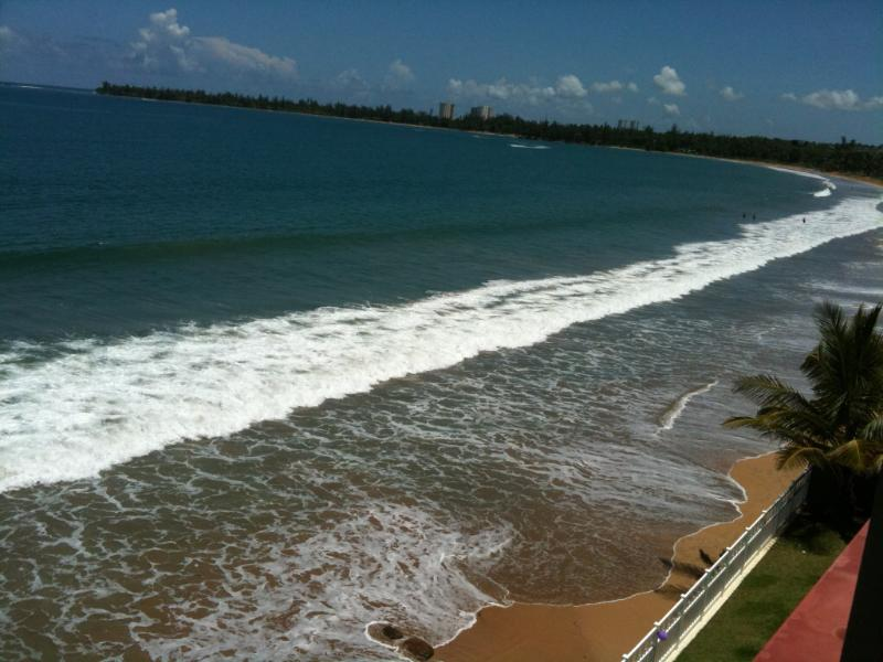 Ocean view - Spectacular Sunrise and  Sunset...... as close as your front window!!! - Luquillo - rentals