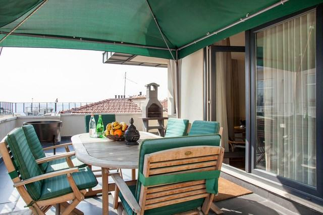 2 BR★2BA★RECEPTION★ELEVATOR★PRIVATE TERRACE★BBQ!! - Image 1 - Istanbul - rentals