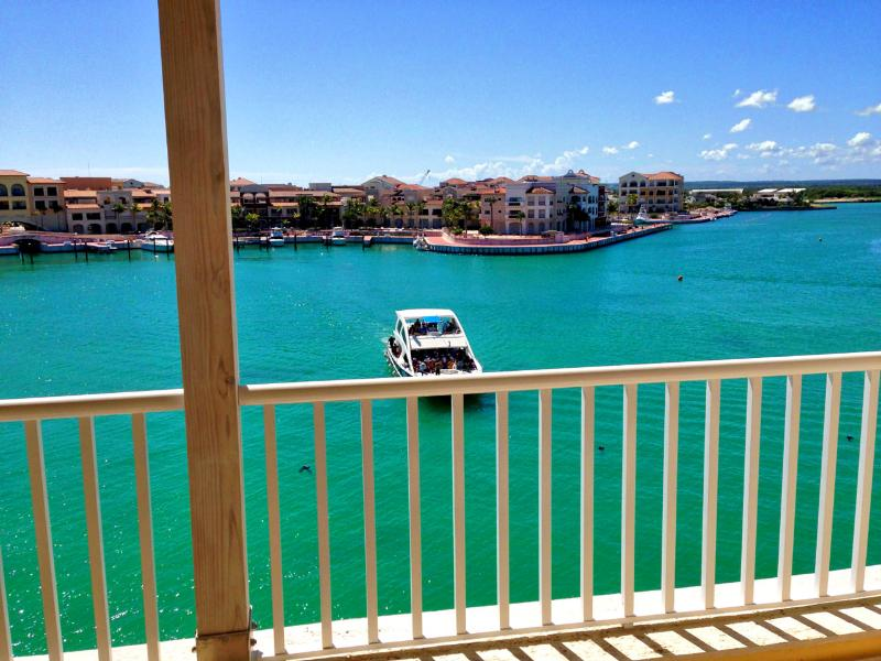(SOME APARTMENTS) Balcony - Overlook the complex marina with a nice cup of coffee in the morning. - GOLD Deluxe Suite @ Cap Cana Marina - Airport P/U - Punta Cana - rentals