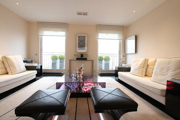 Living room - Le Pont Marie - Spacious for two, splendid views - 4th Arrondissement Hôtel-de-Ville - rentals