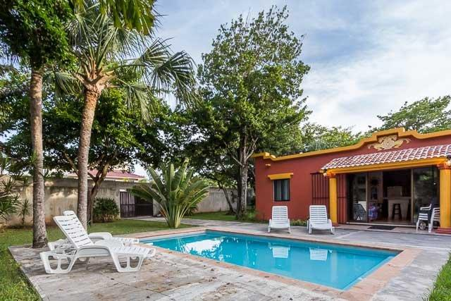 Las Palmas - Convenient to Town, Large Yard and Pool, Three Bedroom Home - Image 1 - Cozumel - rentals