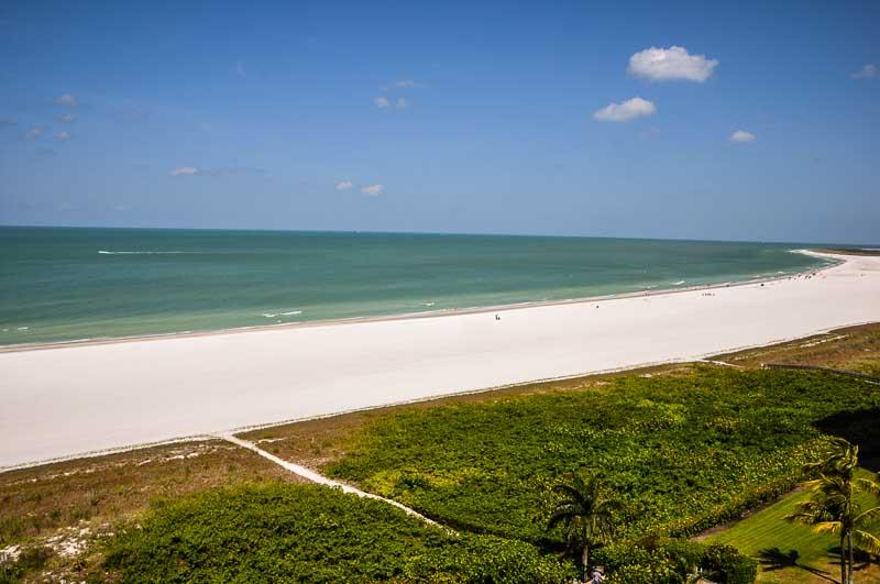 View from Balcony - Royal Seafarer - RS904 - Central Gulfront Condo ! - Marco Island - rentals