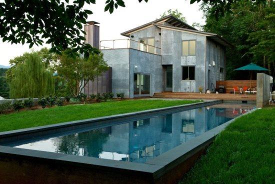 Woolen Mills Retreat:: Modern home with pool - Image 1 - Charlottesville - rentals