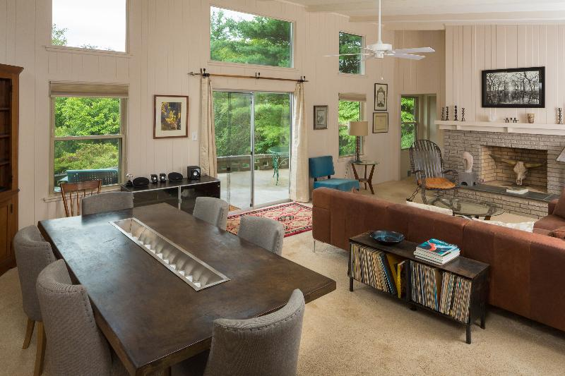 Artistic Mid-Century 3.6 miles to downtown A-Ville - Image 1 - Asheville - rentals