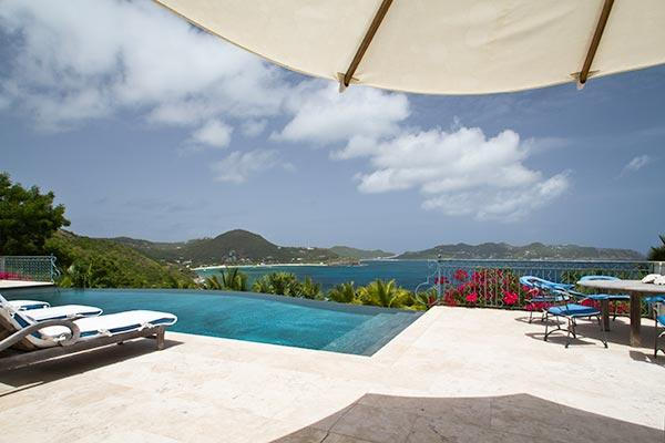 Palladian- style villa adapted to the tropics on the west side of Pointe Milou. WV BTR - Image 1 - Pointe Milou - rentals
