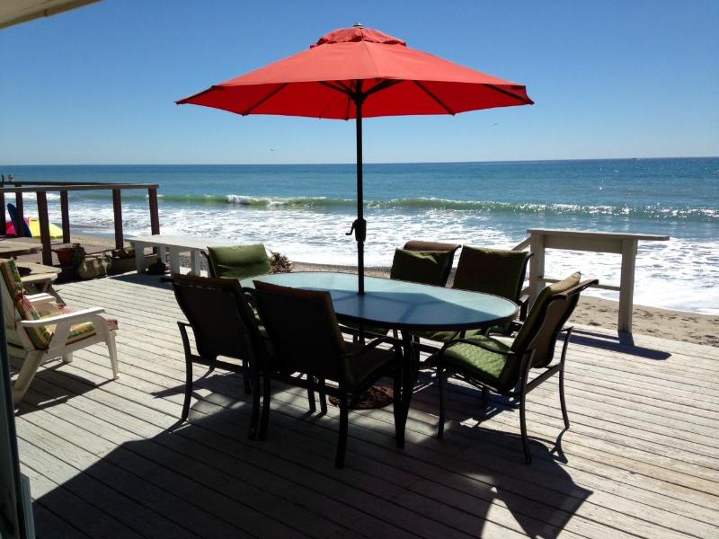 Perfect Family Beach House Right on the Sand  725 - Image 1 - Capistrano Beach - rentals