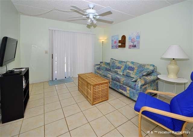 Cool condo living is a perfect family vacation option - Ocean & Racquet 5114, Ground Floor, 2 Pools, Spa, - Saint Augustine Beach - rentals