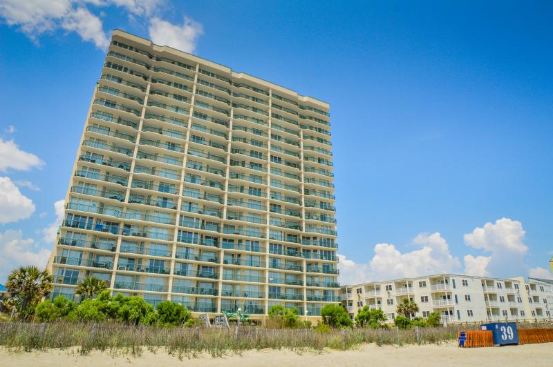 Windy Hill Dunes, located right on the beach! - 4BR family condo, oceanfront w/ pools/lazy river! - North Myrtle Beach - rentals