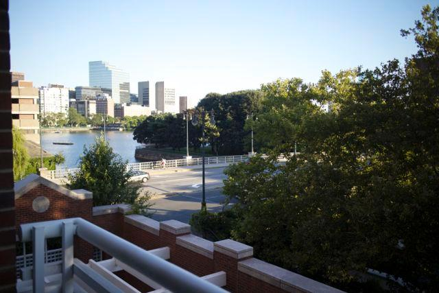 View from the Balcony - Boston/Cambridge Location, Luxury, & Comfort - Cambridge - rentals