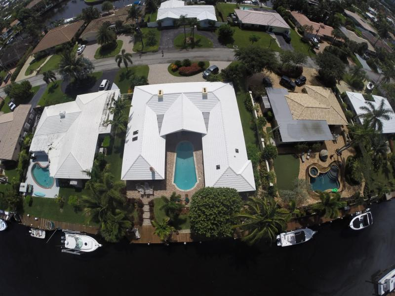View from above - Luxury Waterfront Home, 1 mile to beach - Deerfield Beach - rentals