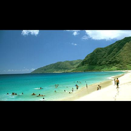 Yokohama Beach. White sand. Turqioise water. Best kept secret! - Makaha, Hawaii - Ocean Views and Uncrowded Beaches - Waianae - rentals