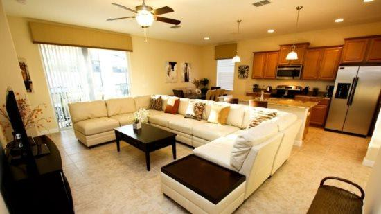 Beautifully Furnished 4 Bedroom 3 Bathroom With Private Pool And Spa. 889SP - Image 1 - Orlando - rentals