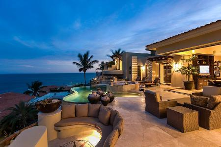 6500 sq ft Casa Bella within exclusive community with heated infinity pool, great for entertaining - Image 1 - Cabo San Lucas - rentals