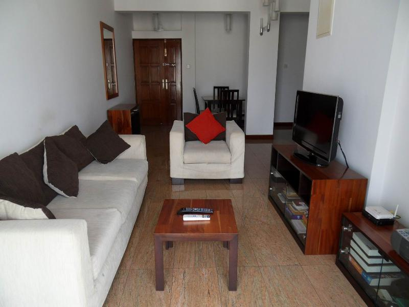 Neat And Modern Living Room - Fully Furnished Seaside 2BR Apartment - short term - Colombo - rentals