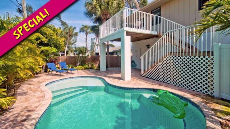Special! - Island Hideaway East: 2BR/1BA Family-Friendly Elevated Home with Pool - Holmes Beach - rentals