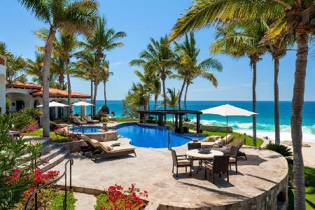 Casa Bahia Rocas - Gated Retreat with Infinity Pool, Beachfront Fire-pit and Lounge - Image 1 - Cabo San Lucas - rentals
