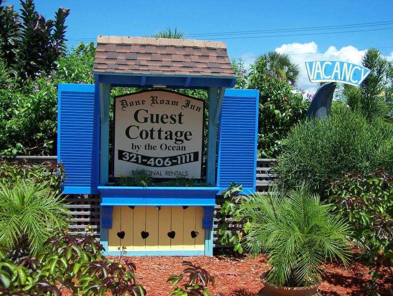Our little Cottage sign. - The Guest Cottage for all occasions, great reviews - Cocoa Beach - rentals