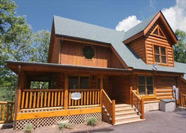 Cabin - Wine Down a four bedroom cabin. - Sevierville - rentals