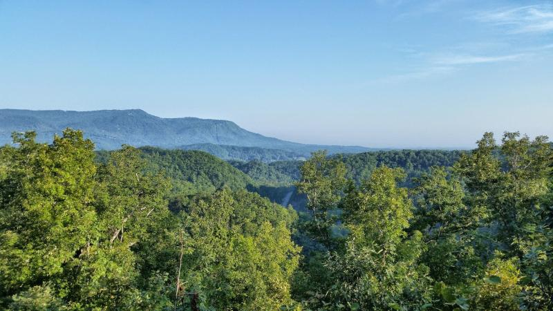 September Special From $110/night! Fantastic 50 Mile Mountain Views! Secluded! 5 miles to Pigeon Forge! Perfect Location! - Image 1 - Wears Valley - rentals