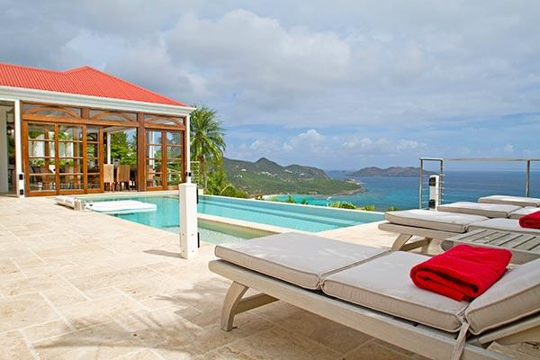 Gentle ocean breezes with amazing views over the Bay of St Jean	 WV DSA - Image 1 - Saint Jean - rentals