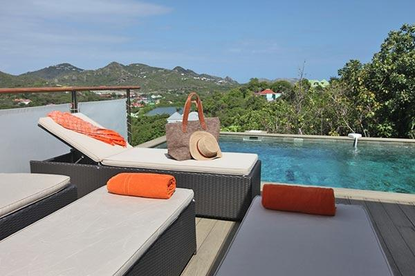 Contemporary villa with fully equipped kitchen & pool terrace WV MBL - Image 1 - Saint Jean - rentals