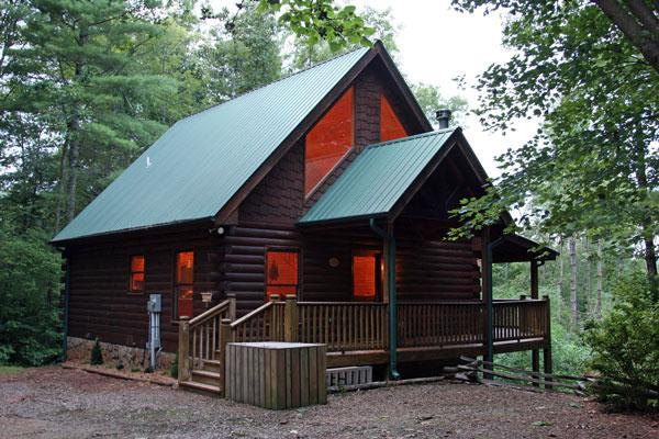 Out Door Cabin Photo  - BUCK SKIN BLUFF, VIEW AND HOT TUB - Blue Ridge - rentals