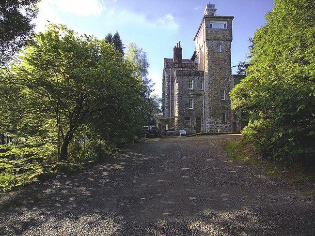 View towards the property - A663C - Dalmally - rentals