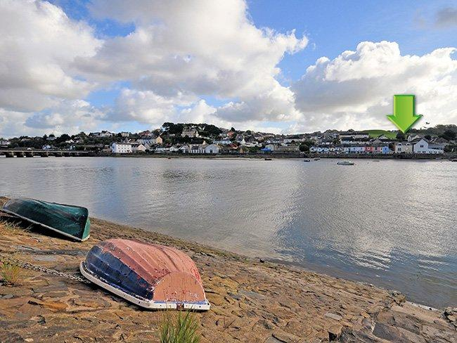 View towards the property across the river - WHISP - Bideford - rentals