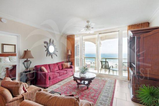 Gulf view 2 bed/ 2.5 bath- Professionally decorated suite at Portofino Island Resort - Image 1 - Pensacola Beach - rentals