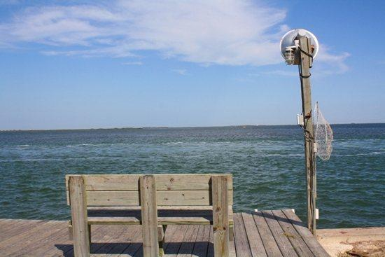 View of Aransas Bay from Kitty by the Sea dock - Kitty by the Sea - Rockport - rentals