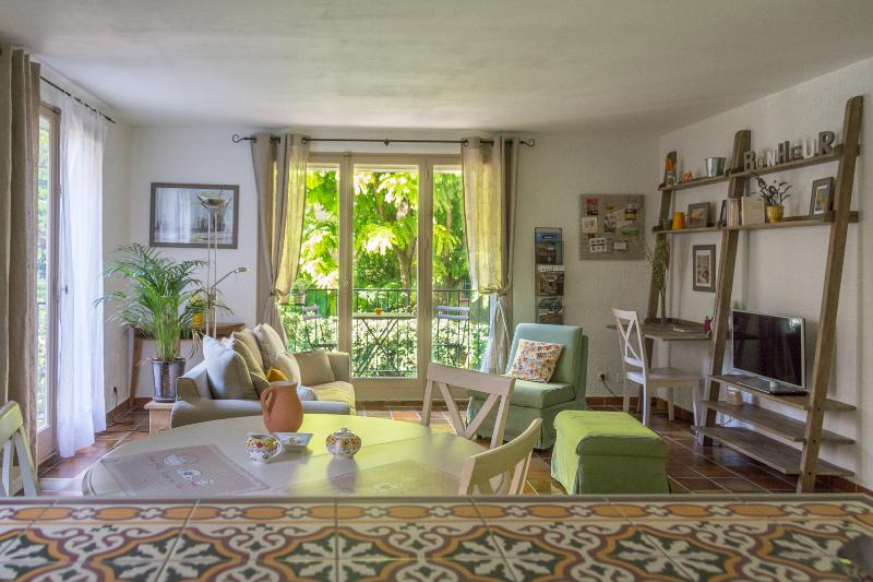 The large view from the open ktichen - Historical centre of Aix - Spacious and Warm Apartment + Carspace + Balcony- Vendome I - Aix-en-Provence - rentals