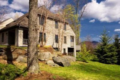 Exterior of Home - Early Autumn temps...leaves are changing! 4BR Luxury at Covered Bridge w/ SAUNA & BILLIARD TABLE! Pool & Tennis available. - Stowe - rentals