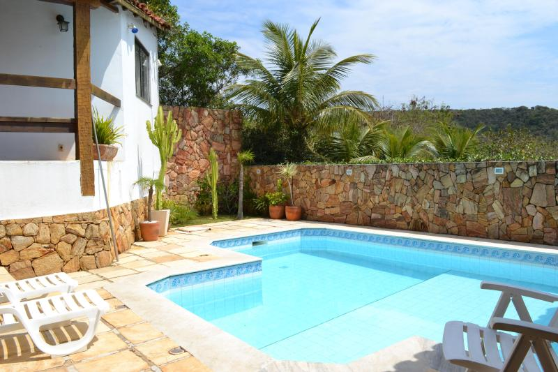Pool - COMFORTABLE HOME NEAR THE BEACHES AND TOWN CENTER - Buzios - rentals