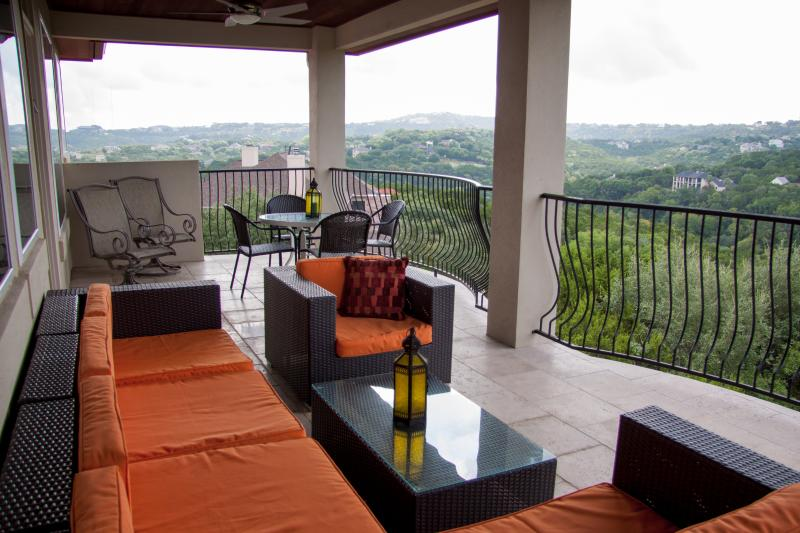 From your private balcony, this gorgeous view of our beloved hill country. - Hill Country Suite (4/3)  Breathtaking View! - Austin - rentals