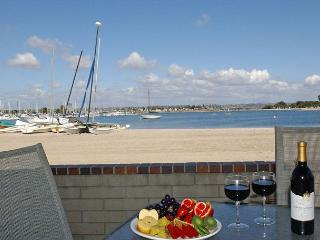 Charming Mission Bay condo- patio, gas BBQ, views, outdoor shower, cable - San Diego vacation rentals