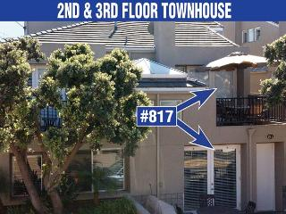 Lovely, spacious townhome-large deck, near beach, w/d, full kitchen - San Diego vacation rentals