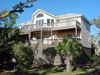Ocean Views and a Private Dock on Scott Creek, Edisto Island - Edisto Beach vacation rentals